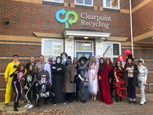 Halloween at Clearpoint Recycling